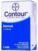 Bayer Contour Glucose Control Solution Normal