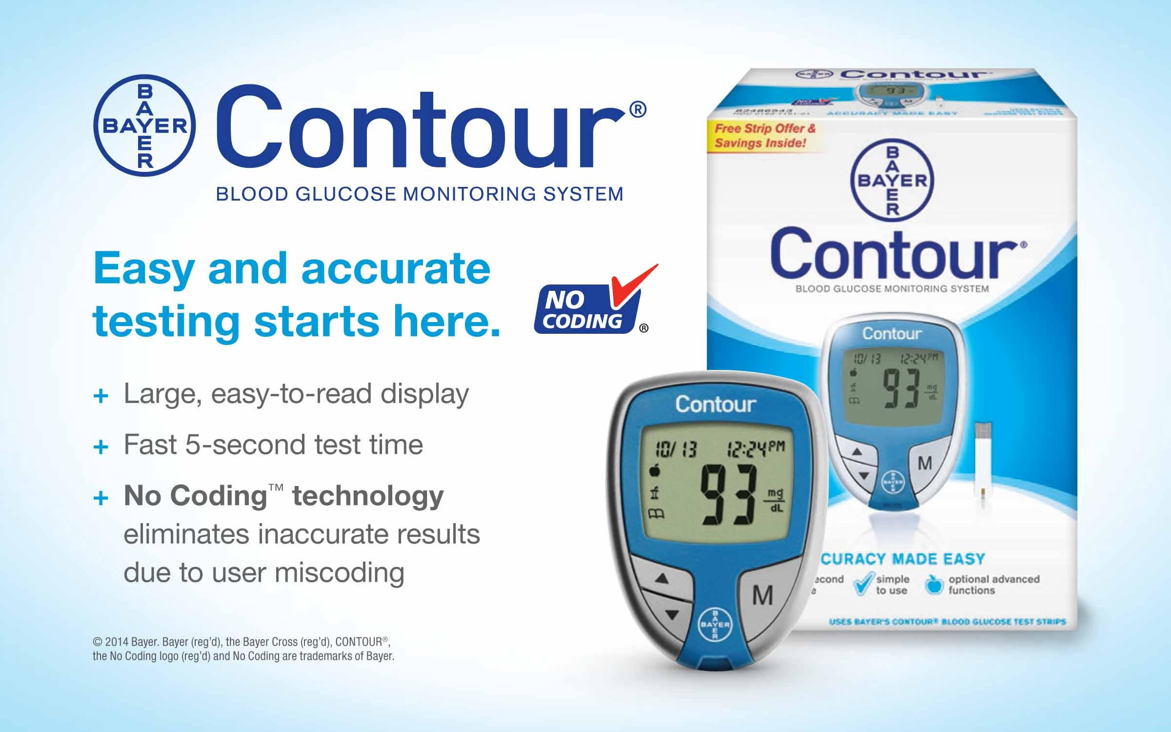Bayer Contour Blood Glucose Monitoring System
