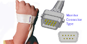 DTS Disposable Oximeter Sensor for Neonatal, Microfoam, BCI compatible, 24/cs