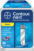 BAYER Contour NEXT Test Strips 50ct