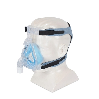 1081801, Respironics Comfort Gel Blue Full Face CPAP Mask and Headgear
